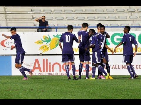 Youth League : RSC Anderlecht-Borussia Dortmund 5-0