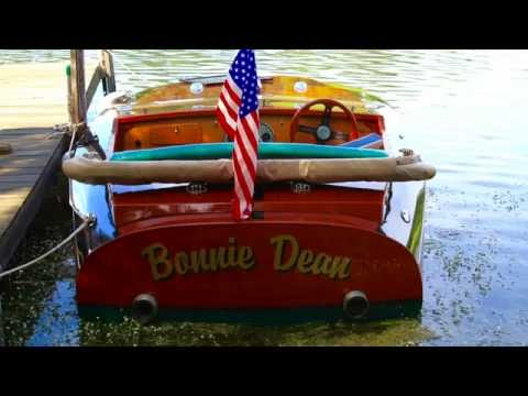 Whitefish Chain Antique & Classic Wood Boat Rendezvous 2016 PHOTOS