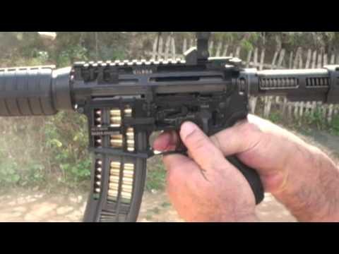 Gilboa Rifle Fully Functioning Cutaway