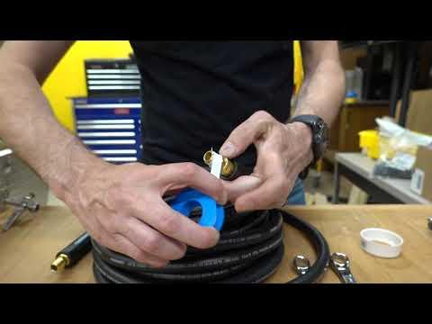 Captain's Blog 6 10 2019 Teflon Tape And How To Make Air Fittings Not Leak