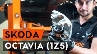 Výmena predné a zadné Ložisko tlmiča SKODA OCTAVIA Combi (1Z5) - video inštruktáž