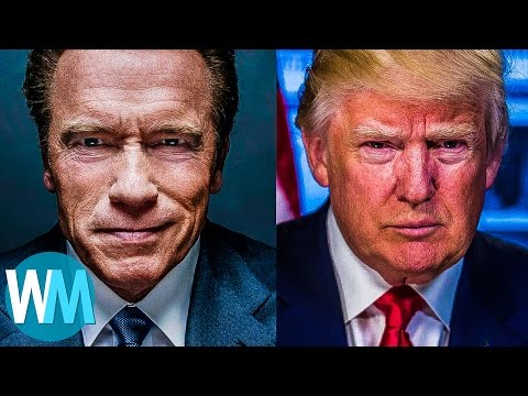 Top 10 Celebrity Trump Haters