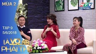 HTV LÀ VỢ PHẢI THẾ 2 | Lâm Vỹ Dạ thần tượng Hứa Minh Đạt từ năm 15t | LVPT #9 FULL | 5/6/2018