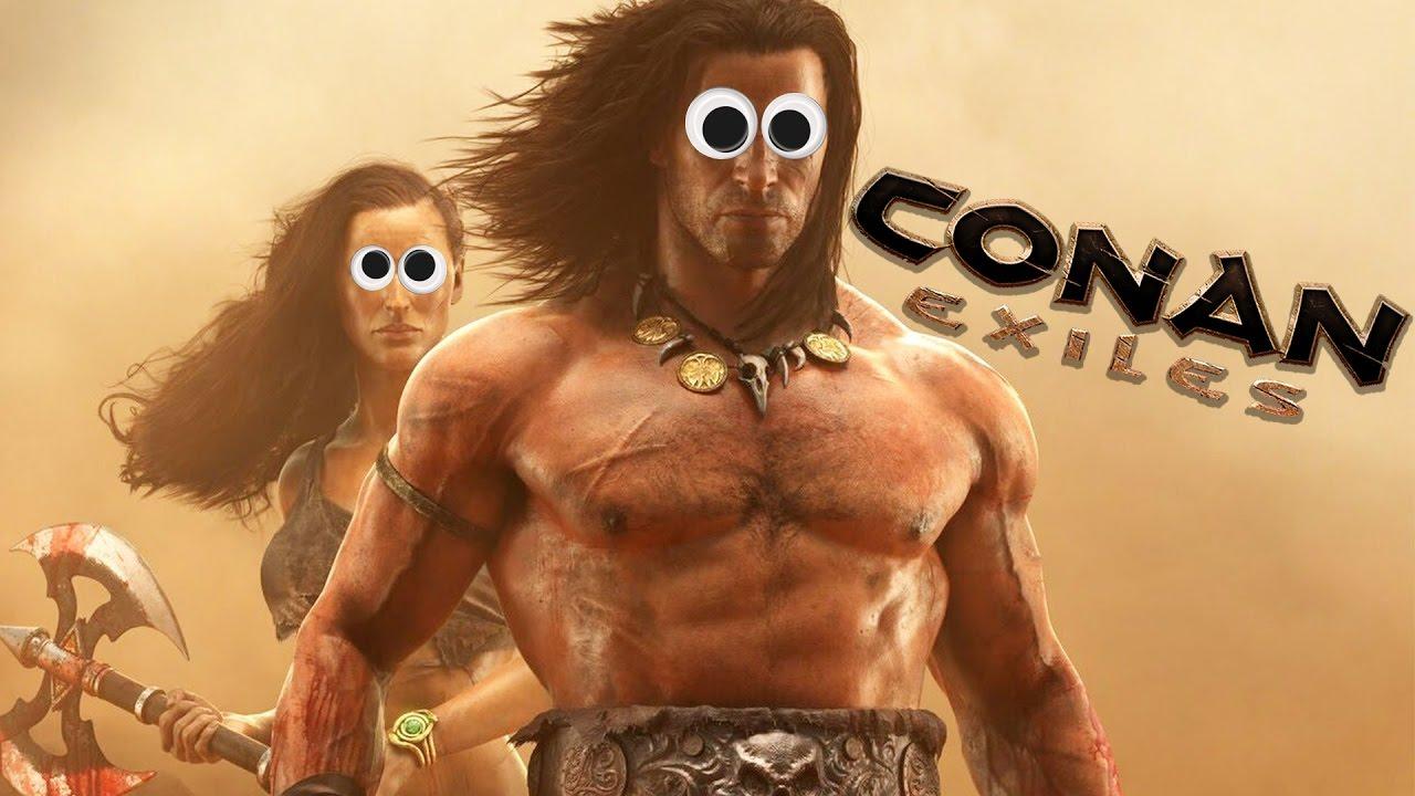 conan exiles how to make a single coop game