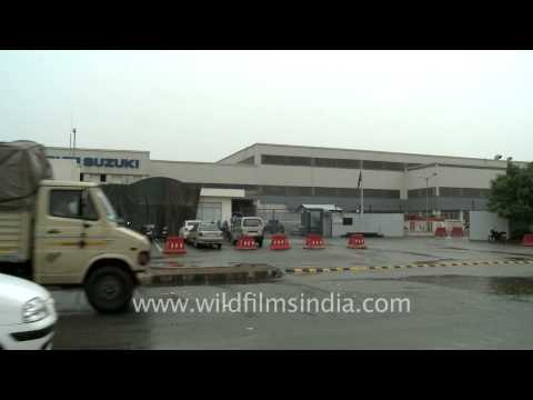 Maruti Suzuki plant after lockout
