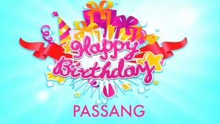 Passang   Wishes Birthday