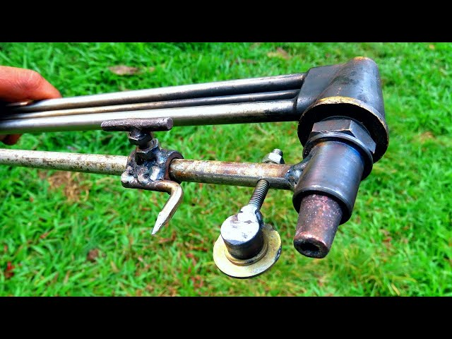 How to make easy circle cutting tool (Gas cutter)