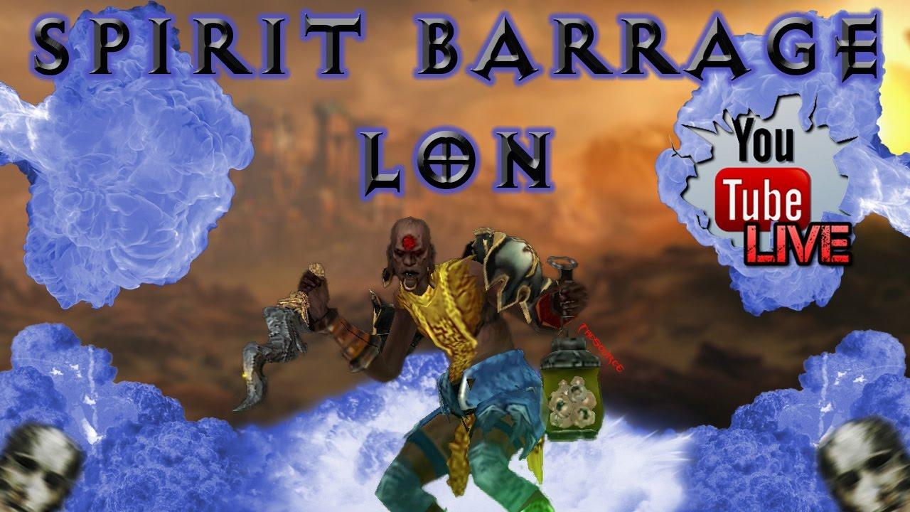 Spirit Barrage Build Season