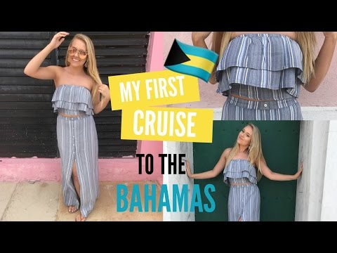 My FIRST CRUISE to the BAHAMAS!!