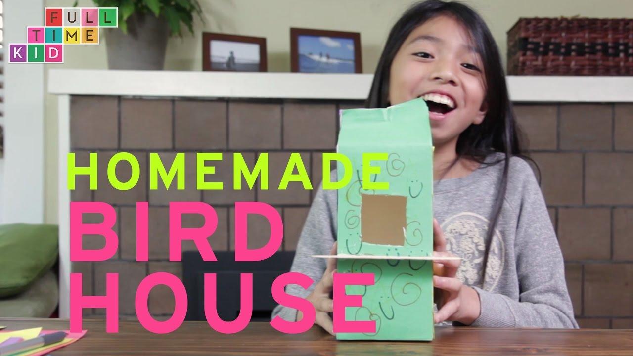 Homemade BIRD HOUSE   Full-Time Kid   PBS Parents