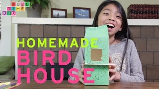 Homemade BIRD HOUSE | Full-Time Kid | PBS Parents