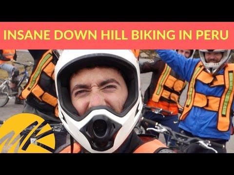 INSANE DOWNHILL MOUNTAIN BIKING IN PERU - (Episode 2)
