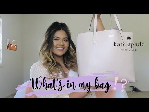 WHATS IN MY BAG| MINI REVIEW| KATE SPADE| LIANA CORDERO