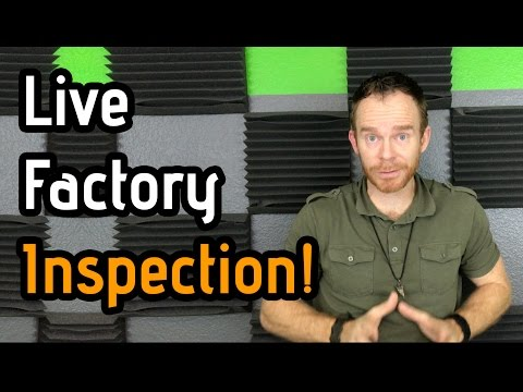 Factory Inspection for New Amazon Product Live!!!