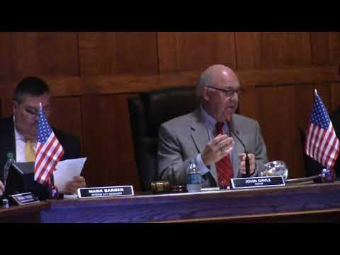 9 Valdosta-Lowndes County Airport Authority Appointment @ VCC Regular - 2018-01-11