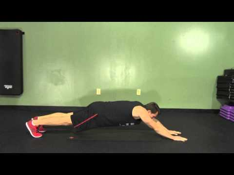 Superman Plank - HASfit Abdominal Exercises - Ab Exercises - Abs Exercise