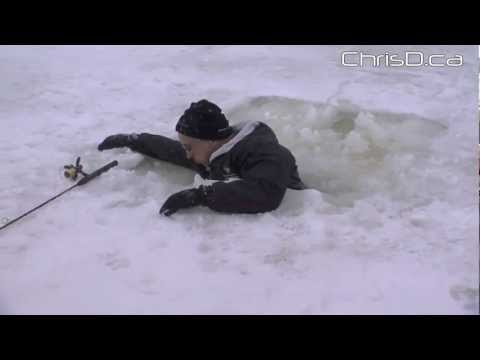 Cold Water Rescue Exercise - March 11, 2013 - Winnipeg, Manitoba