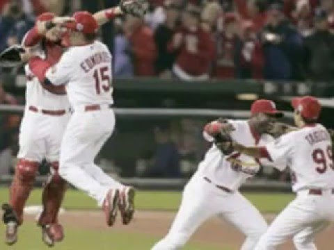 2006 World Series Champions St Louis Cardinals