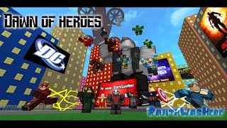 roblox Marvel & Dc: Dawn Of Heroes