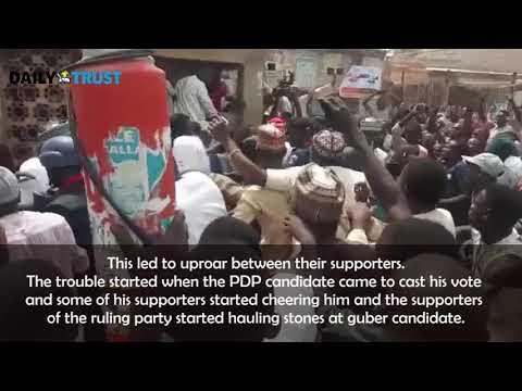 Drama as PDP Abba Yusuf  and APC Abdullahi Abbas cast vote in same PU