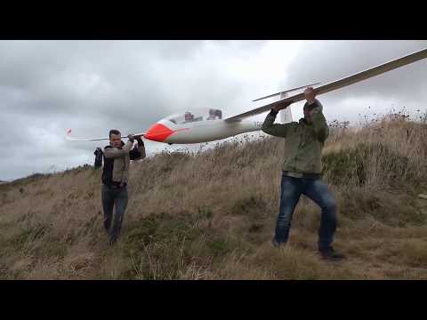 Arcus 8m - First flight at the seaside in Brittany