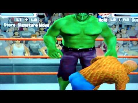 Hulk Vs Homem De Pedra Hulk Vs The Thing Youtube