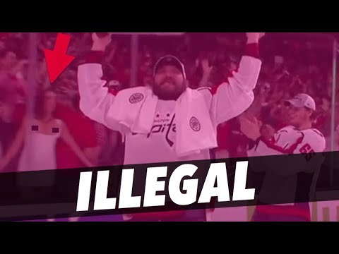 ILLEGAL THINGS YOU DO AT EVERY SPORTING EVENT