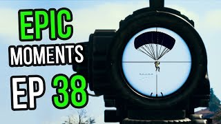 PUBG: Epic & Lucky Moments Ep. 38