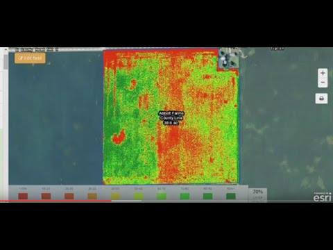 Precision Agriculture with GIS imagery by Beck's Hybrids