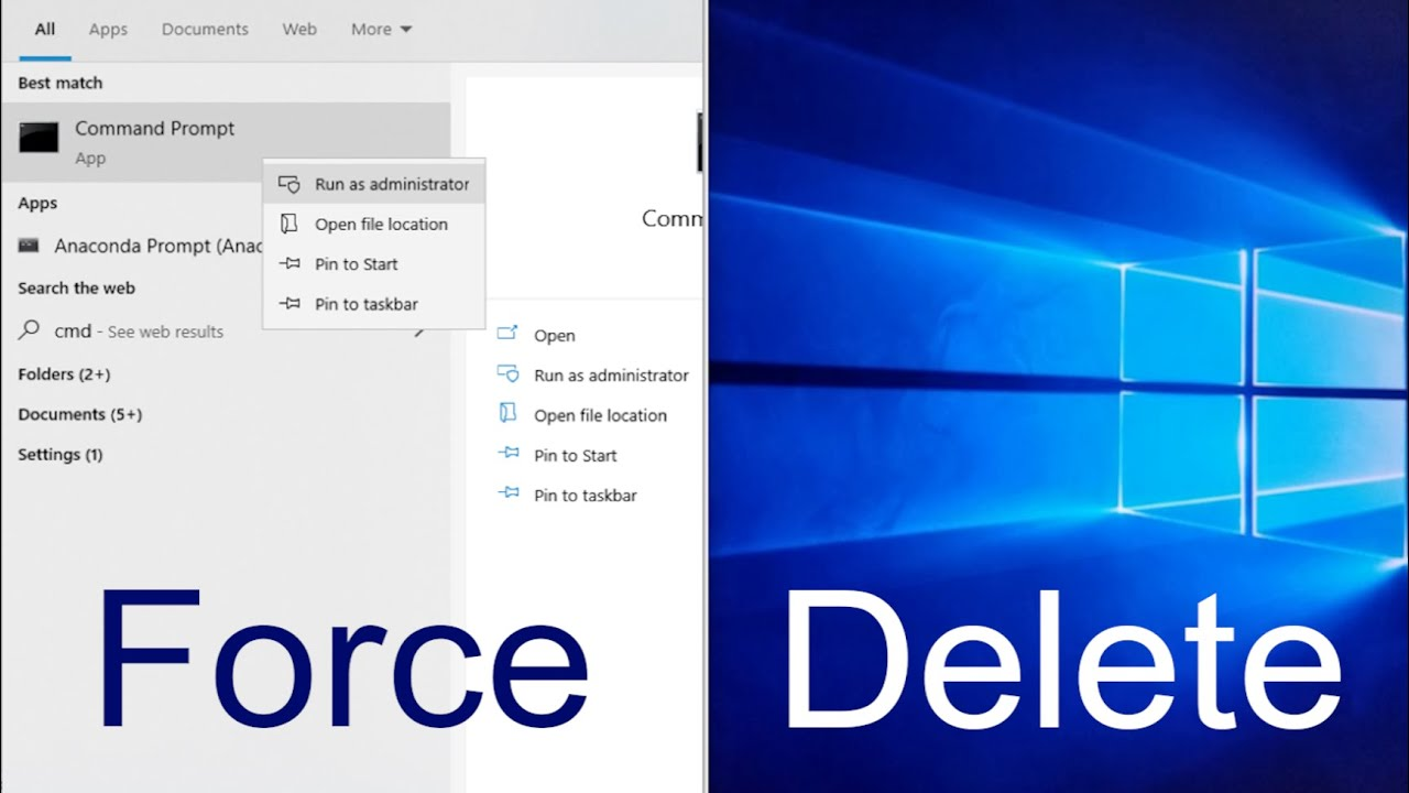 Hướng Dẫn Cách Buộc Xóa Tệp Trong Windows 10 Nhanh Chóng - AN PHÁT