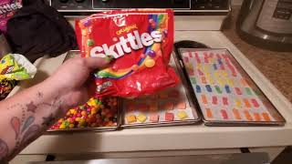 Freeze Dried Candy- Sour Patch kids, skittles, and Starburst