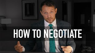 How To Negotiate Deąls In Person - Beginner To Expert in 27 Minutes