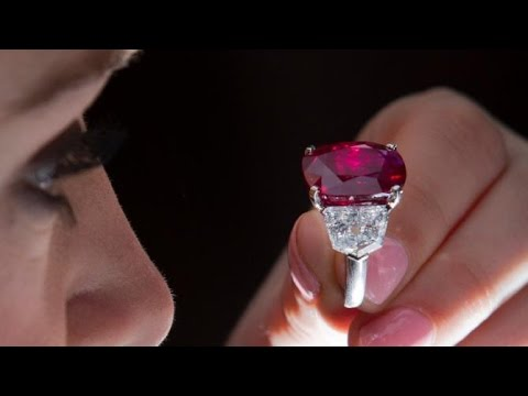 Ruby Sells For Record $30 Million At Auction