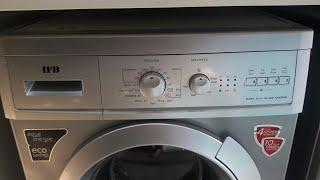 How to use IFB fully automatic washing machine model Elena aqua sx 1000 RPM demo