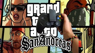 GTA-SA GAMEPAD PLUS | Moto Z3 Play