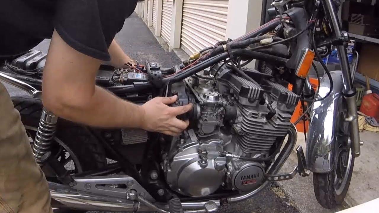 $100 Craigslist Motorcycle Update: Part 1 (1982 Yamaha Maxim