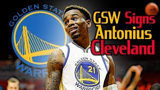 WARRIORS SIGN CLEVELAND? Antonius Cleveland: First Look