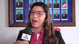 Lívia Maia protocola projeto de indicação do Sistema permanente de defesas aos animais