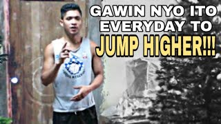 EVERYDAY ROUTINE TO JUMP HIGHER!!! | Darwin Dunks