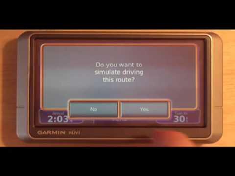 Garmin Nuvi 200w - Walkthrough