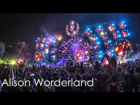Alison Worderland Ultra Music Festival 2016