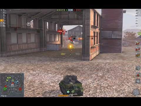 WoT Blitz | UC 2-pdr | Ace Mastery | 3 Kills | 1183 Damage