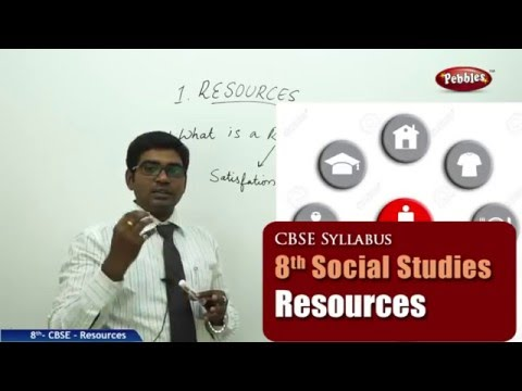 Resources | Class 8th Social Studies | NCERT | CBSE Syllabus | Live Videos