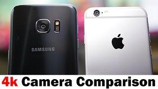 Samsung Galaxy S7 vs iPhone 6s - Camera Comparison