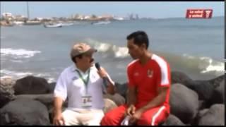 """Volibol de Playa. Olimpiada Nacional 2014 Veracruz. """"La Salud y Usted""""."""