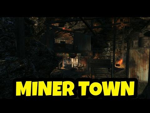 Fallout 4: MINER TOWN SETTLEMENT!!