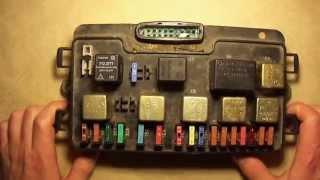 видео Схема электрооборудования ВАЗ-2115 самара