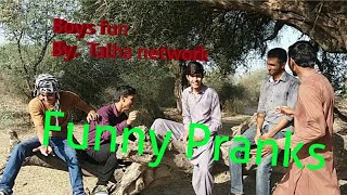 Funny prank / funny clip / funny video / latest 2018 comedy video / by talha network