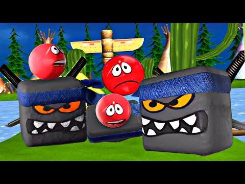 ЭТО ЧТО ? RED BALL 4 - 3D ? Шарики в 3д - прикольная игра про красный шар   !