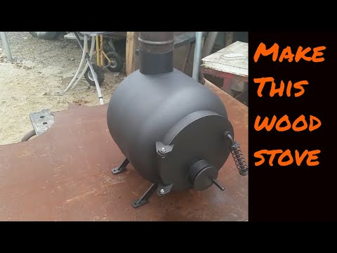 DIY Tiny Woodstove  for your off grid Tiny Home